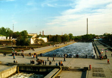 THE PEDESTRIAN WALK ON CITY Ekaterinburg