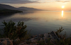 The Baikal in the morning