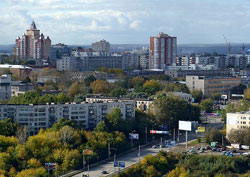 Panoramic view of Perm