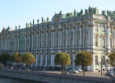 HERMITAGE MUSEUM AND BOAT TRIP TO PETERHOF with Park &Grand Palace
